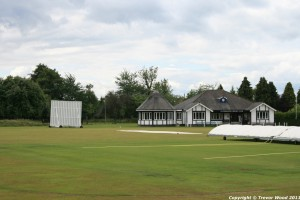 The new cricket pavilion